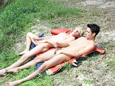 Hot Twinks Naked Outdoors