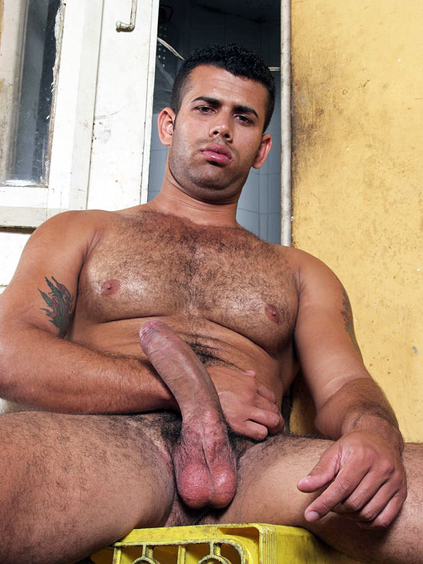 Jorge Evert Showing Off His Erection